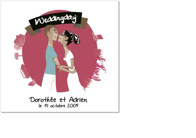 Faire-part de mariage - Proposition non retenue