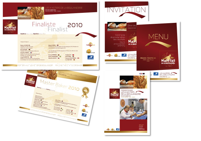 Brochures Masters de la Boulangerie