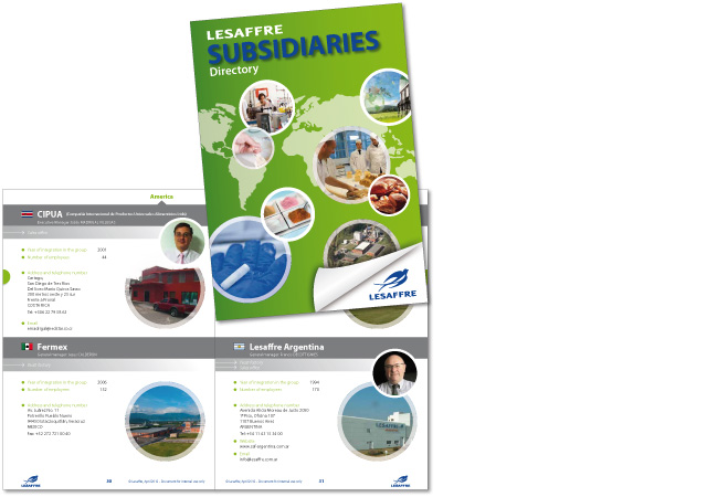 Annuaire des filiales Lesaffre