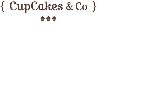 Logo Cupcakes & Co