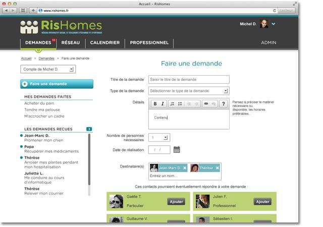 RisHomes page intérieure