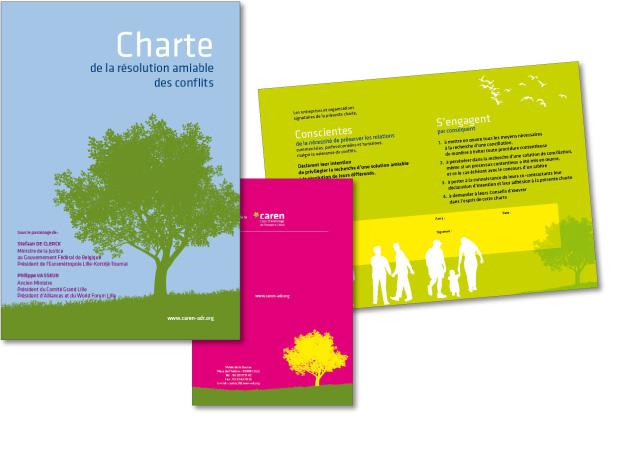 Plaquette Caren Charte amiable